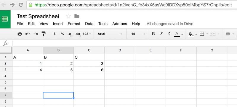 Optics: Pulling Google Spreadsheet and Salesforce com data